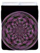 Morphed Art Globe 28 Duvet Cover by Rhonda Barrett