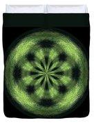 Morphed Art Globe 35 Duvet Cover by Rhonda Barrett