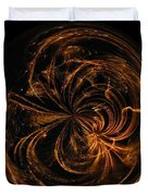 Morphed Art Globe 40 Duvet Cover by Rhonda Barrett