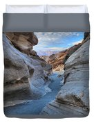 Mosaic Canyon Twilight Duvet Cover by Adam Jewell