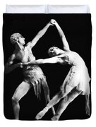 Moscow Opera Ballet Dancers Duvet Cover by Underwood Archives