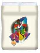 Mother And Child Duvet Cover by Natalie Collins