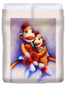 Mother And Child Duvet Cover by Shannon Grissom