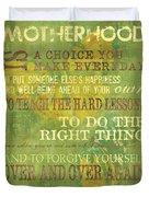 Motherhood Duvet Cover by Debbie DeWitt