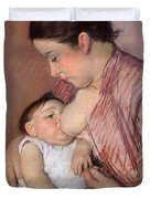 Motherhood Duvet Cover by Marry Cassatt