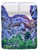 Mount Rushmore Roosevelt Duvet Cover by Tommy Anderson
