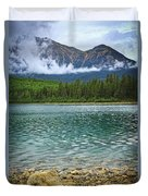 Mountain Lake Duvet Cover by Elena Elisseeva