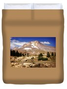 Mt. Hood Duvet Cover by Marty Koch
