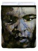 Muhammad Ali  A Change Is Gonna Come Duvet Cover by Paul Lovering