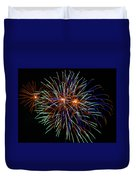 4th Of July Fireworks 22 Duvet Cover by Howard Tenke