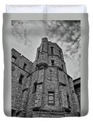 Museum At The Castle  8301 Duvet Cover by Guy Whiteley