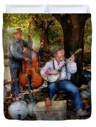 Music Band - The bands back together again  Duvet Cover by Mike Savad