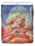 Musical Angel With Violin Duvet Cover by Melozzo da Forli