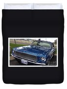 Mustang Classic Duvet Cover by Bobbee Rickard