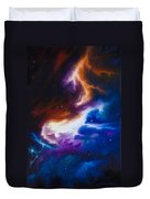 Mutara Nebula Duvet Cover by James Christopher Hill