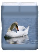 Mute Swan 1 Duvet Cover by Sharon  Talson