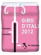 My Giro D' Italia Minimal Poster Duvet Cover by Chungkong Art