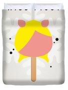My Muppet Ice Pop - Miss Piggy Duvet Cover by Chungkong Art