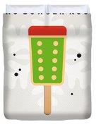My NINTENDO ICE POP - King Bowser Duvet Cover by Chungkong Art