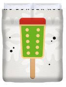 My Nintendo Ice Pop - King Bowser Duvet Cover by Chungkong Art