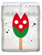My Nintendo Ice Pop - Piranha Plant Duvet Cover by Chungkong Art