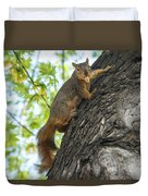 My Peanut Duvet Cover by Robert Bales