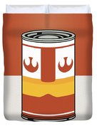 My Star Warhols Luke Skywalker Minimal Can Poster Duvet Cover by Chungkong Art