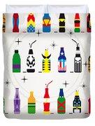 My Super Soda Pops No-00 Duvet Cover by Chungkong Art