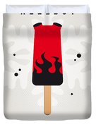 My Superhero Ice Pop - Hellboy Duvet Cover by Chungkong Art
