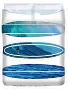My Surfspots Poster-2-mavericks-california Duvet Cover by Chungkong Art