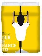 My Tour De France Minimal Poster Duvet Cover by Chungkong Art
