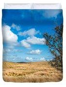 Mynydd Hiraethog Duvet Cover by Adrian Evans