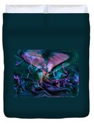 Mysteries Of The Universe Duvet Cover by Linda Sannuti