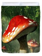Mystic Mushroom Duvet Cover by Daniel Eskridge