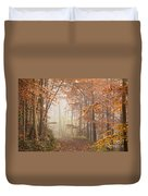 Mystic Woods Duvet Cover by Anne Gilbert