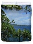 Nahiku Kaelua Honolulunui Bay Maui Hawaii Duvet Cover by Sharon Mau