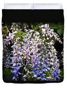Nancys Wisteria 3 Db Duvet Cover by Rich Franco