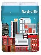 Nashville Duvet Cover by Karen Young