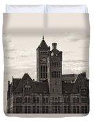 Nashville's Union Station Duvet Cover by Dan Sproul