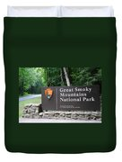 National Park Duvet Cover by Frozen in Time Fine Art Photography