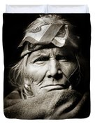 Native American Zuni -  Si Wa Wata Wa  Duvet Cover by The  Vault - Jennifer Rondinelli Reilly
