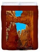 Natural Bridge Bryce Duvet Cover by Robert Bales