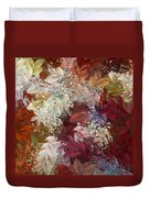 Naturaleaves - 88c02 Duvet Cover by Variance Collections