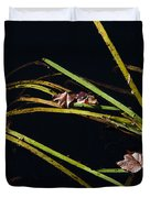 Nature Floats Duvet Cover by Karol  Livote