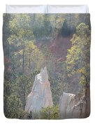 Nature Struggles Duvet Cover by Kim Pate