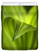 Nature Unfurls Duvet Cover by Christina Rollo