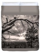 Natures Arch Duvet Cover by Debra and Dave Vanderlaan
