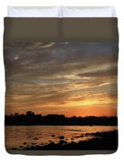 Nature's Created Colors Duvet Cover by Karol Livote