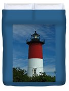 Nauset Beach Lighthouse Duvet Cover by Juergen Roth
