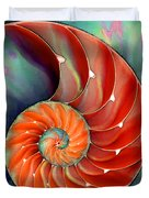 Nautilus Shell - Nature's Perfection Duvet Cover by Sharon Cummings